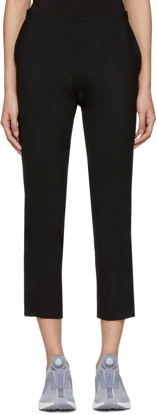 Image of 6397 Black Pull-on Trousers