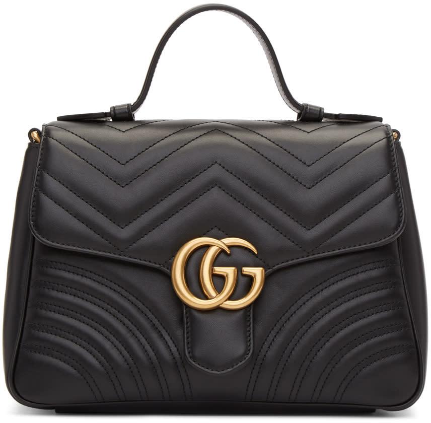 6d999e1b1c5a Gucci Black Small Gg Marmont 20 Bag