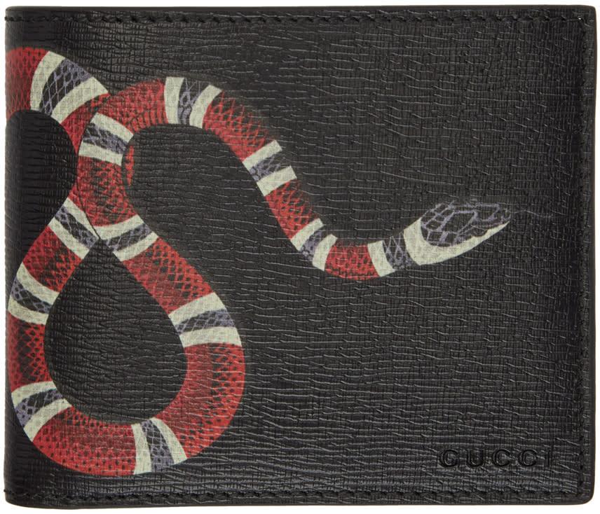 a17c2ab41e41 Gucci Black Snake Gg Wallet