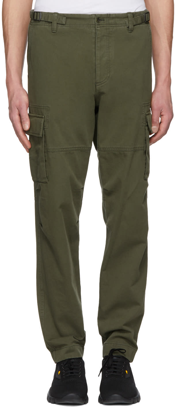 Green Washed Cargo Valentino Green Valentino Washed Pants WHE9D2eIY
