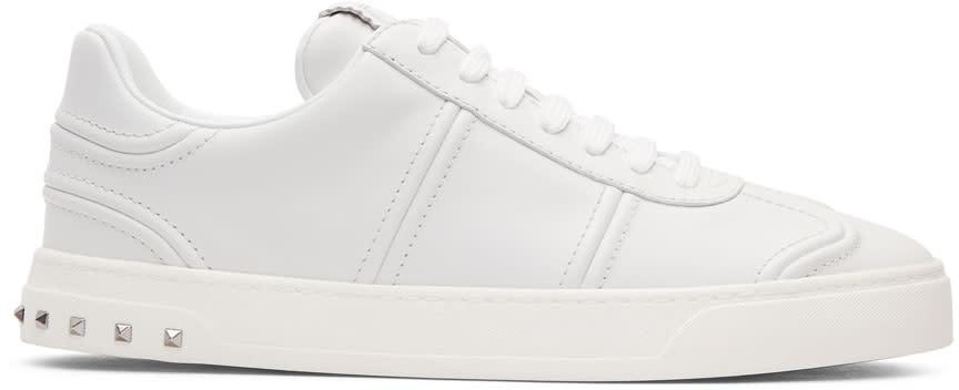 Valentino White Valentino Garavani Flycrew Sneakers