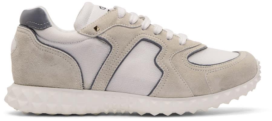 Valentino White Valentino Garavani Soul Am Sneakers