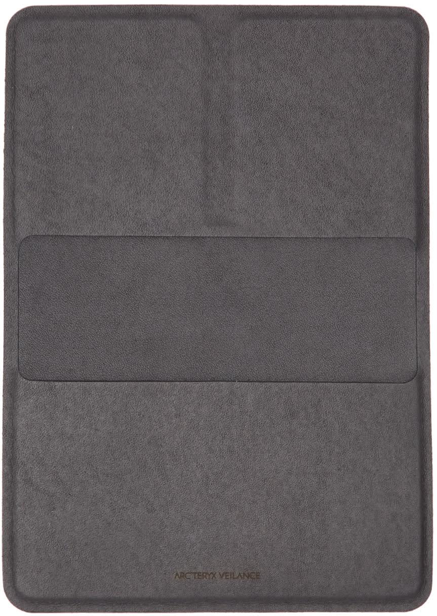Image of Arcteryx Veilance Black Casing Passport Holder
