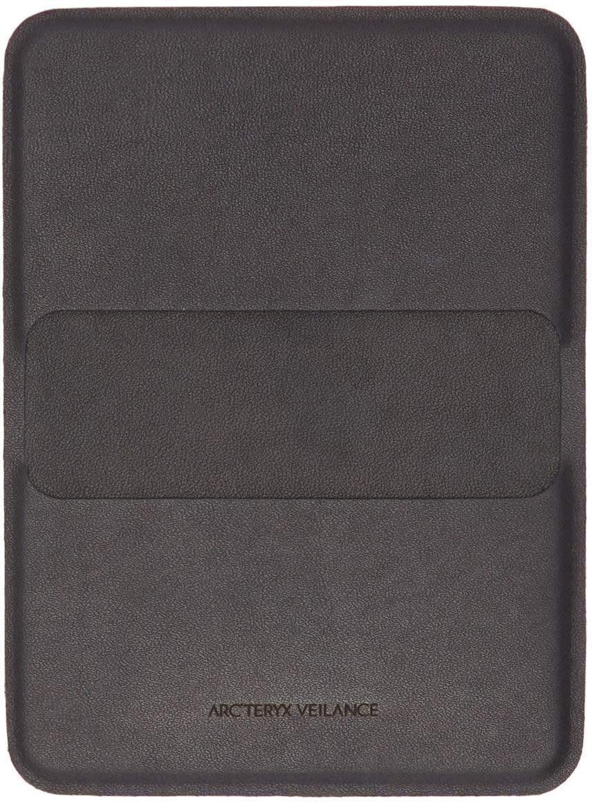 Image of Arcteryx Veilance Black Casing Card Holder