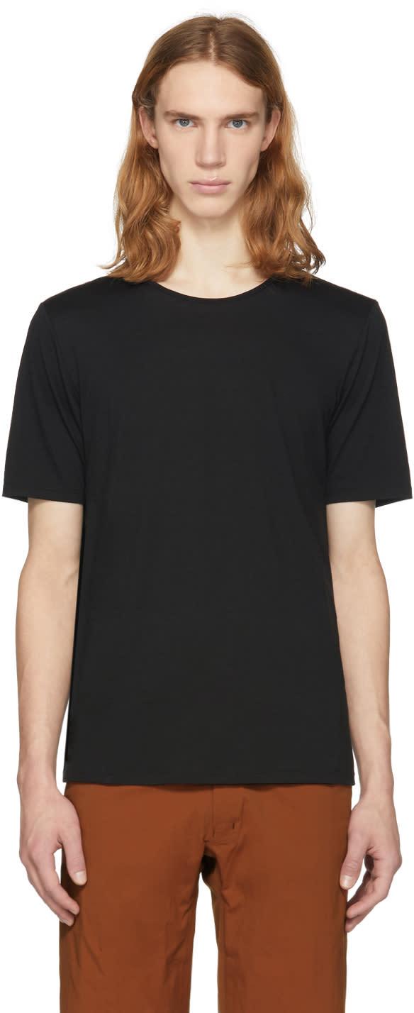 Arcteryx Veilance T-shirt à Manches Longues En Mérinos Noir Frame