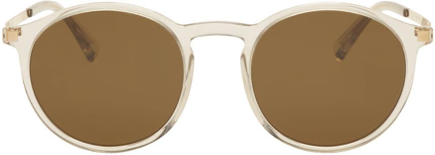 Image of Mykita Gold Lite Oki Sunglasses