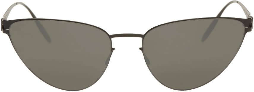 Image of Mykita Black Bernhard Willhelm Edition Eartha Sunglasses