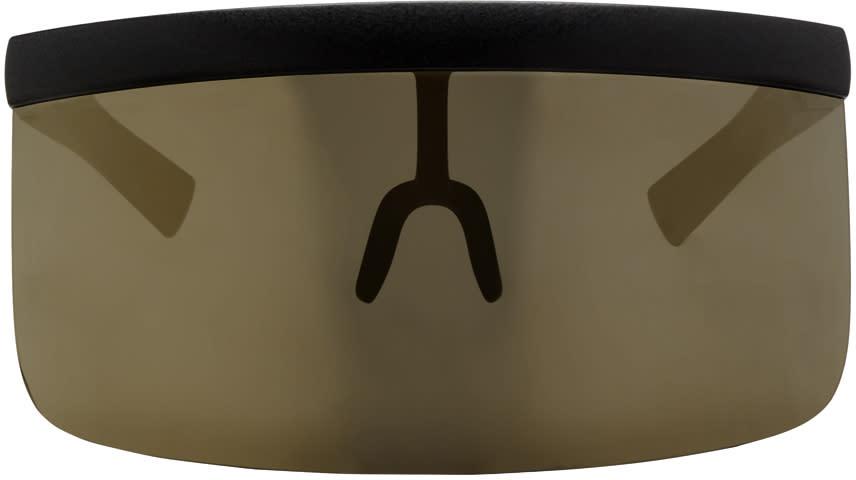 Image of Mykita Black Bernhard Willhelm Edition Daisuke Sunglasses