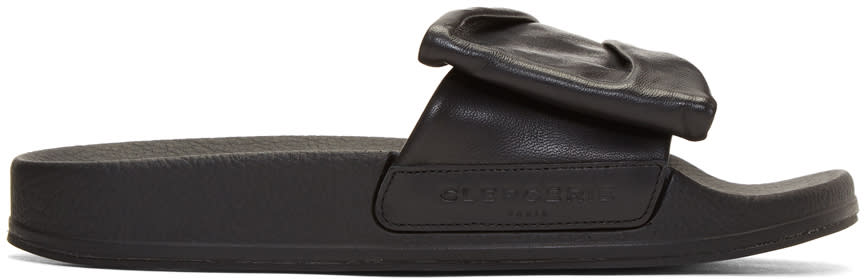 Robert Clergerie Black Wendy Sandals