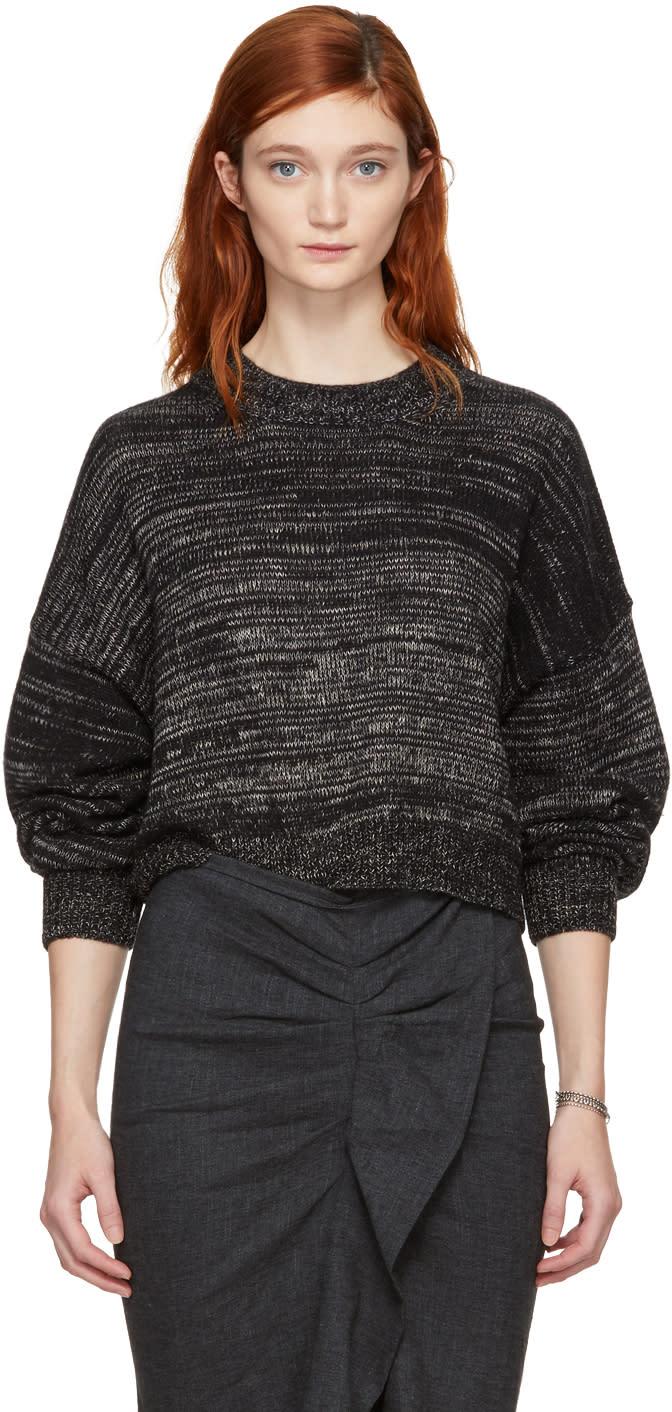 Image of Isabel Marant Etoile Black Alpaca Rodd Sweater