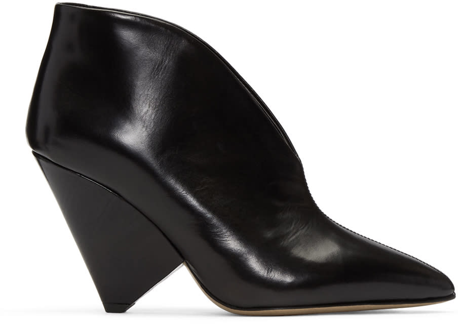 Image of Isabel Marant Black Adenn Boots
