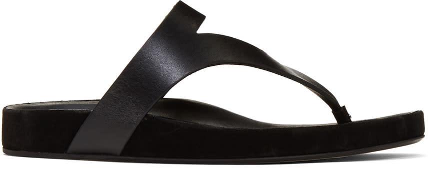Isabel Marant Black Elbry Chic Strap Sandals