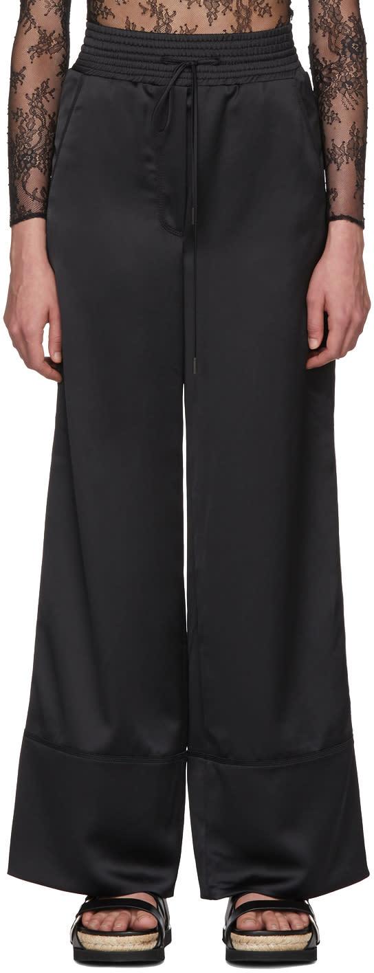 Off-white ブラック カーゴ パジャマ パンツ