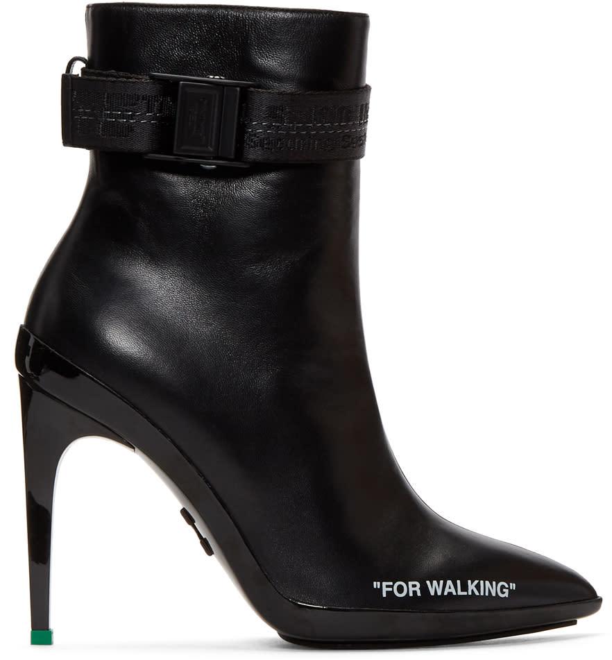 ブラック For Walking アンクル ブーツ
