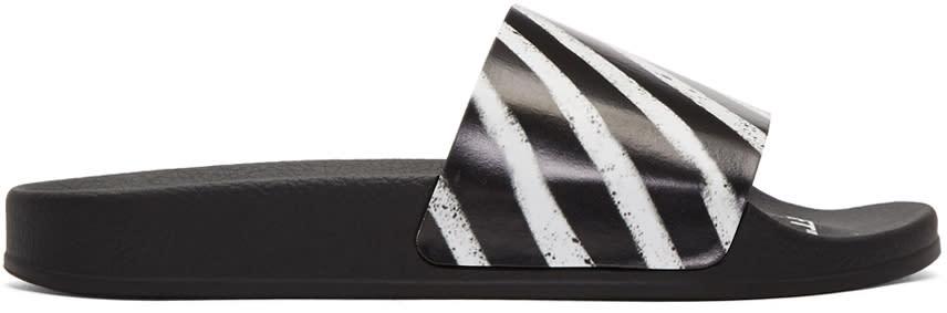 Off-white Black off Spray Slides