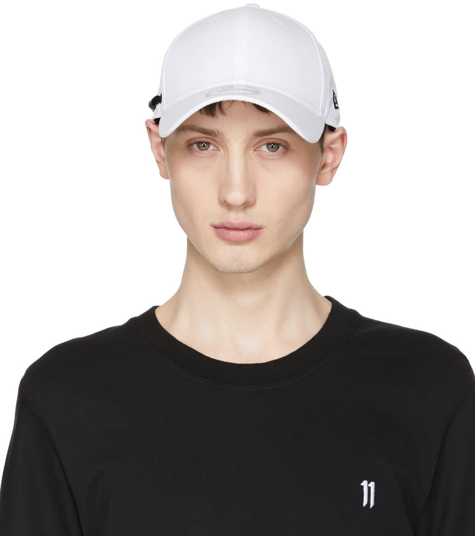 11 By Boris Bidjan Saberi White New Era Edition Perforated Logo Cap