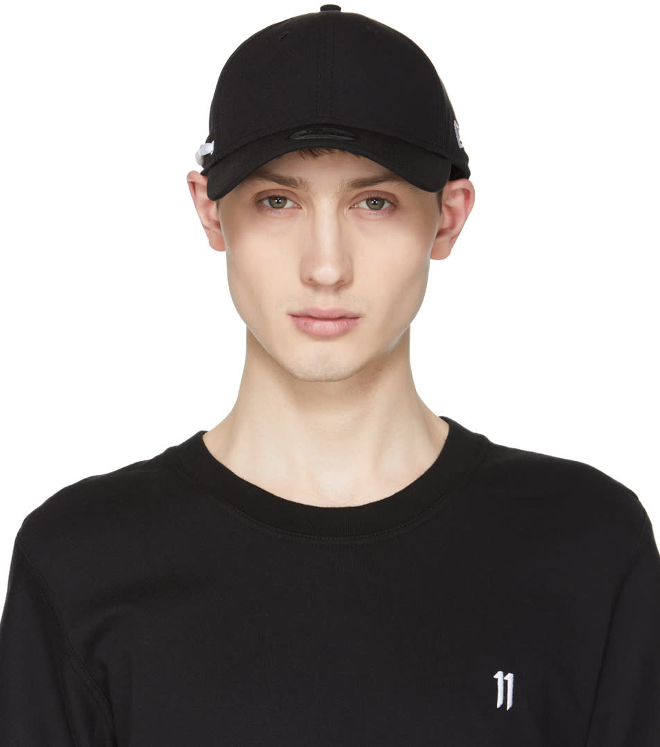 11 By Boris Bidjan Saberi Black New Era Edition Perforated Logo Cap