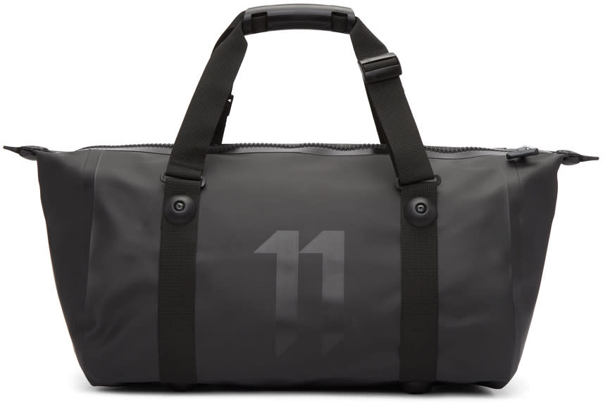 11 By Boris Bidjan Saberi Black Ortlieb Edition Nylon Gym Duffle Bag