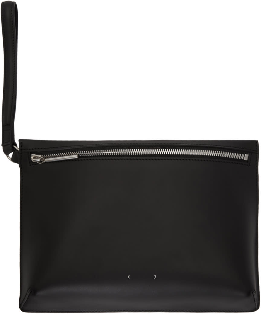 Image of Pb 0110 Black Ab 35 Zip Pouch