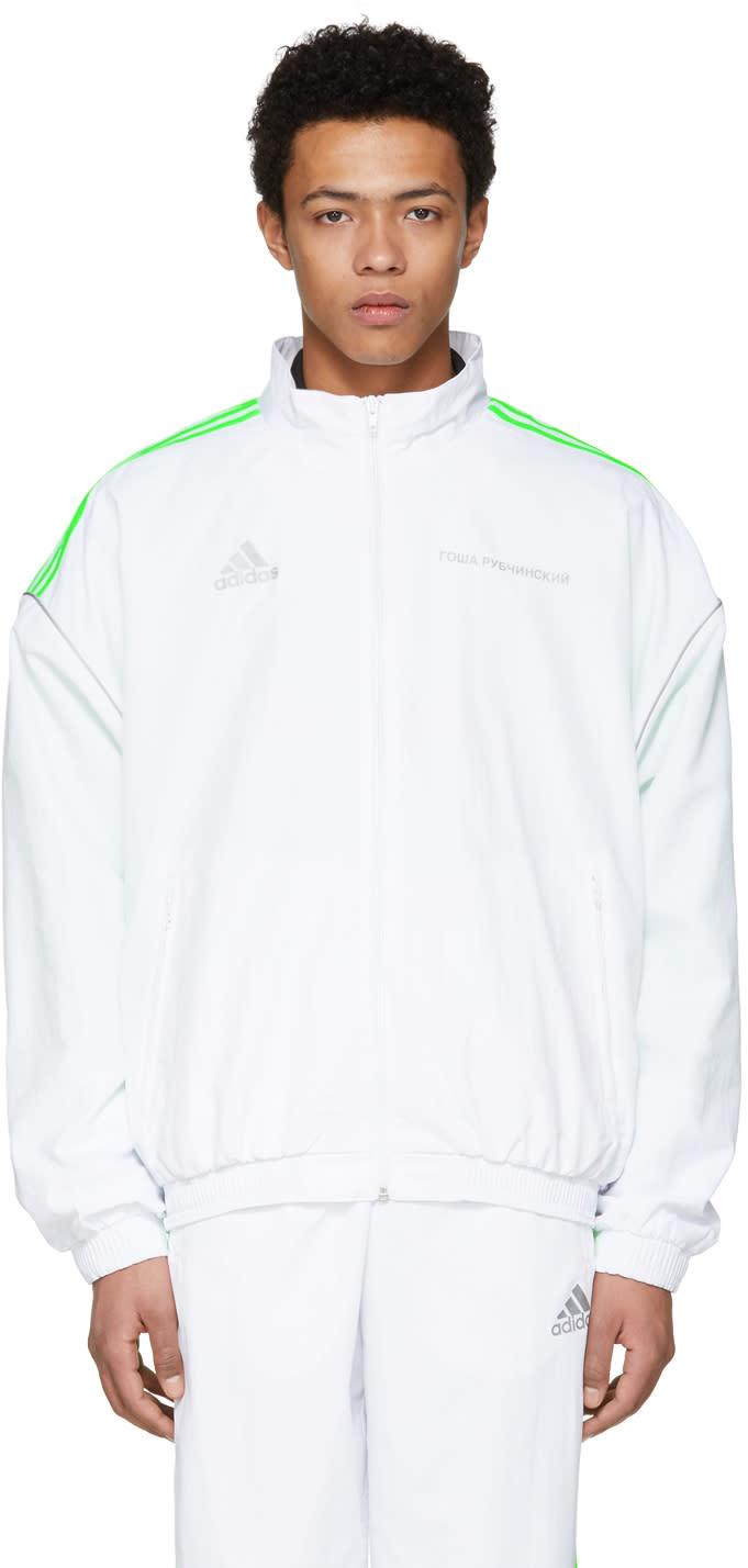 Gosha Rubchinskiy ホワイト Adidas Originals Edition トラック ジャケット