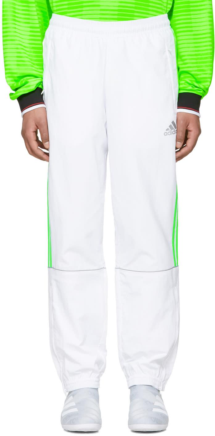Gosha Rubchinskiy ホワイト Adidas Originals Edition トラック パンツ