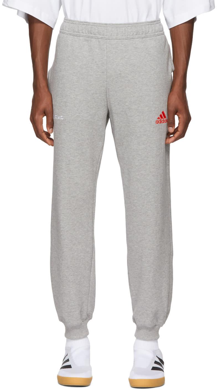 Gosha Rubchinskiy グレー  Adidas Originals Edition ロゴ ラウンジ パンツ
