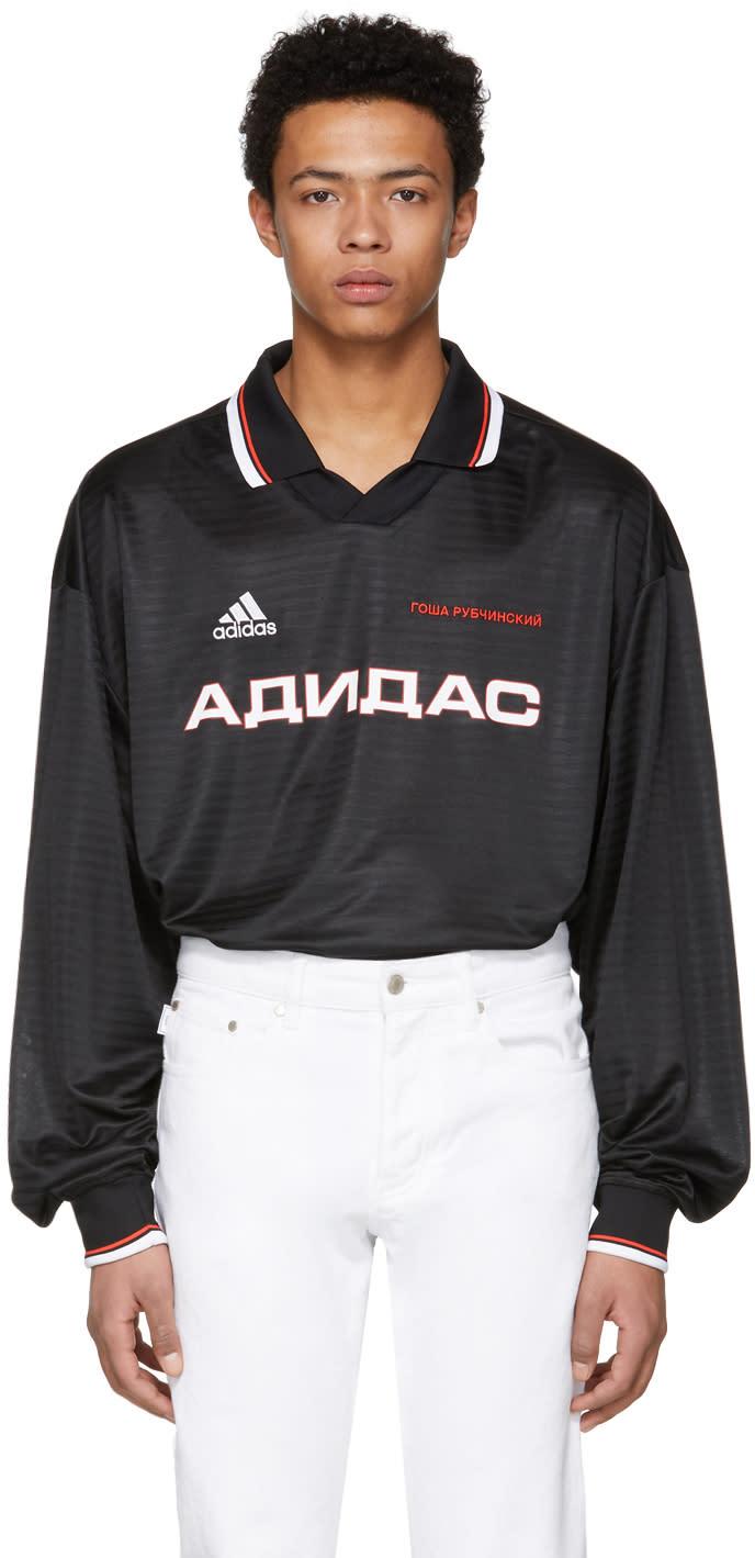 Gosha Rubchinskiy ブラック Adidas Originals Edition ポロ