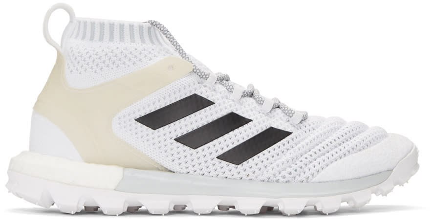 Gosha Rubchinskiy ホワイト Adidas Originals Edition コパ ミッド Pk スニーカー