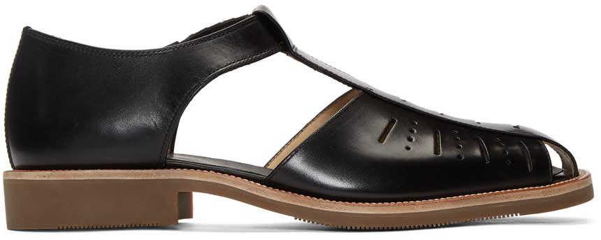 Lemaire Black Close Toe Sandals