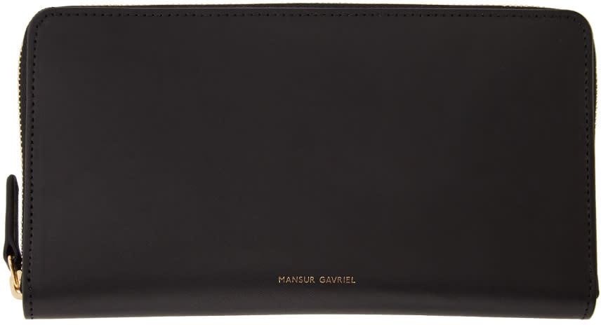 Image of Mansur Gavriel Black Continental Wallet