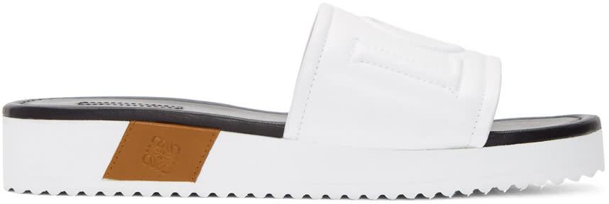 Loewe White Logo Slides