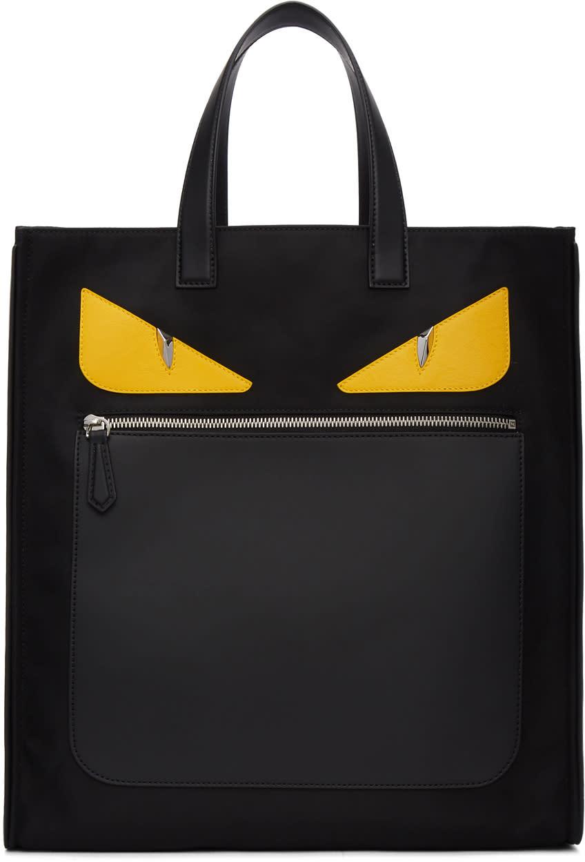 Fendi Black bag Bugs Tote b6cfec2564dd9