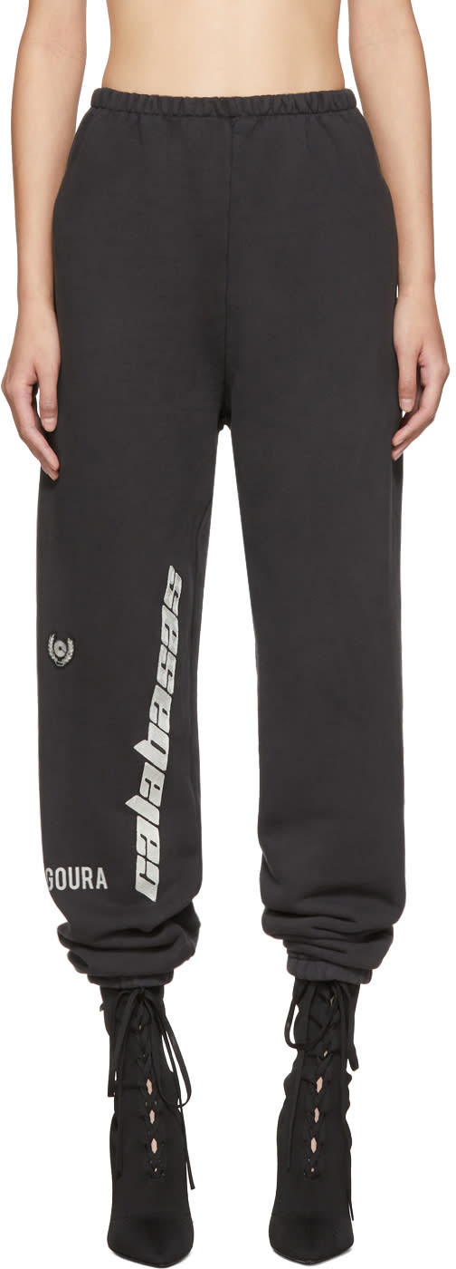Image of Yeezy Black calabasas French Terry Sweatpants