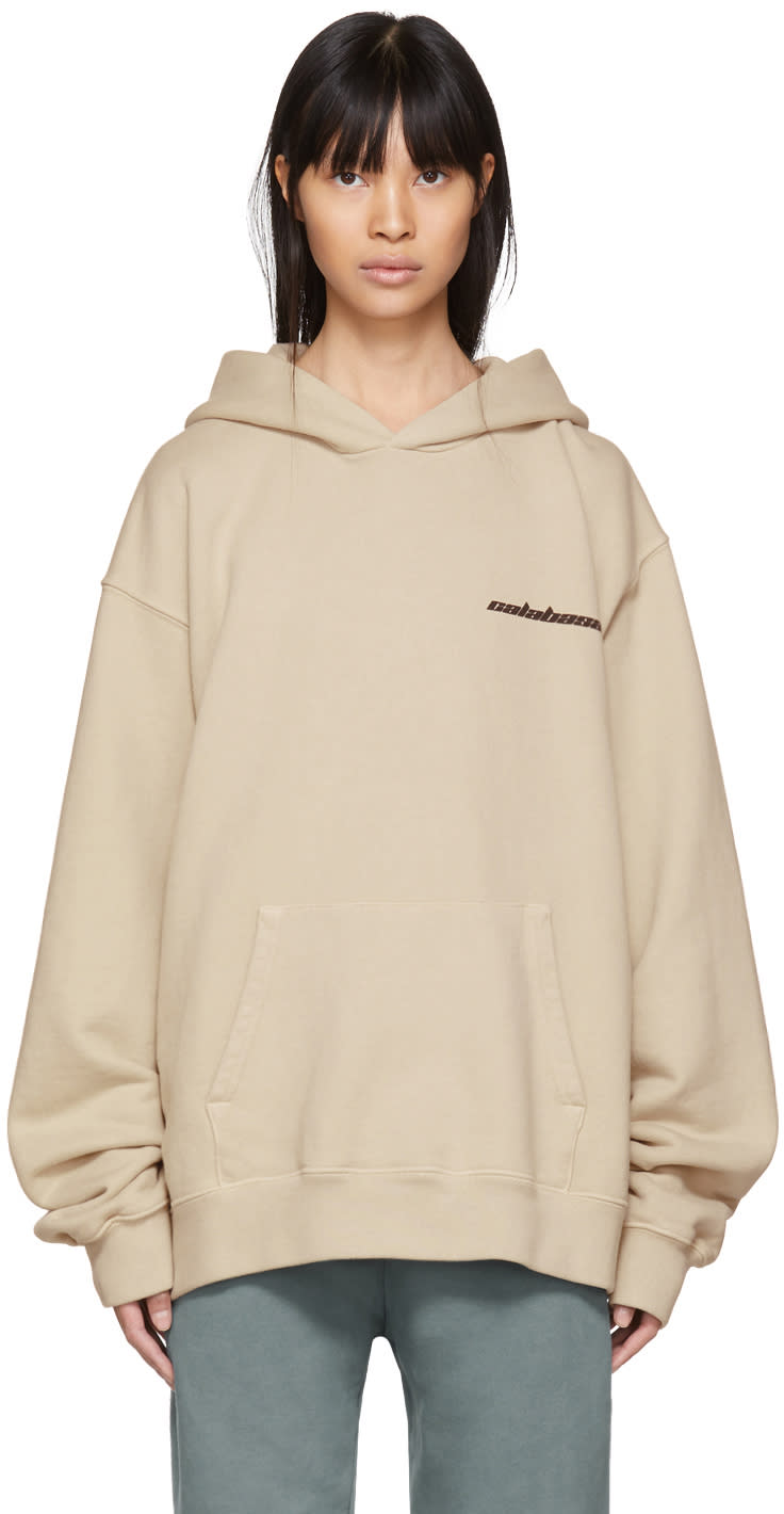 Image of Yeezy Beige calabasas French Terry Hoodie