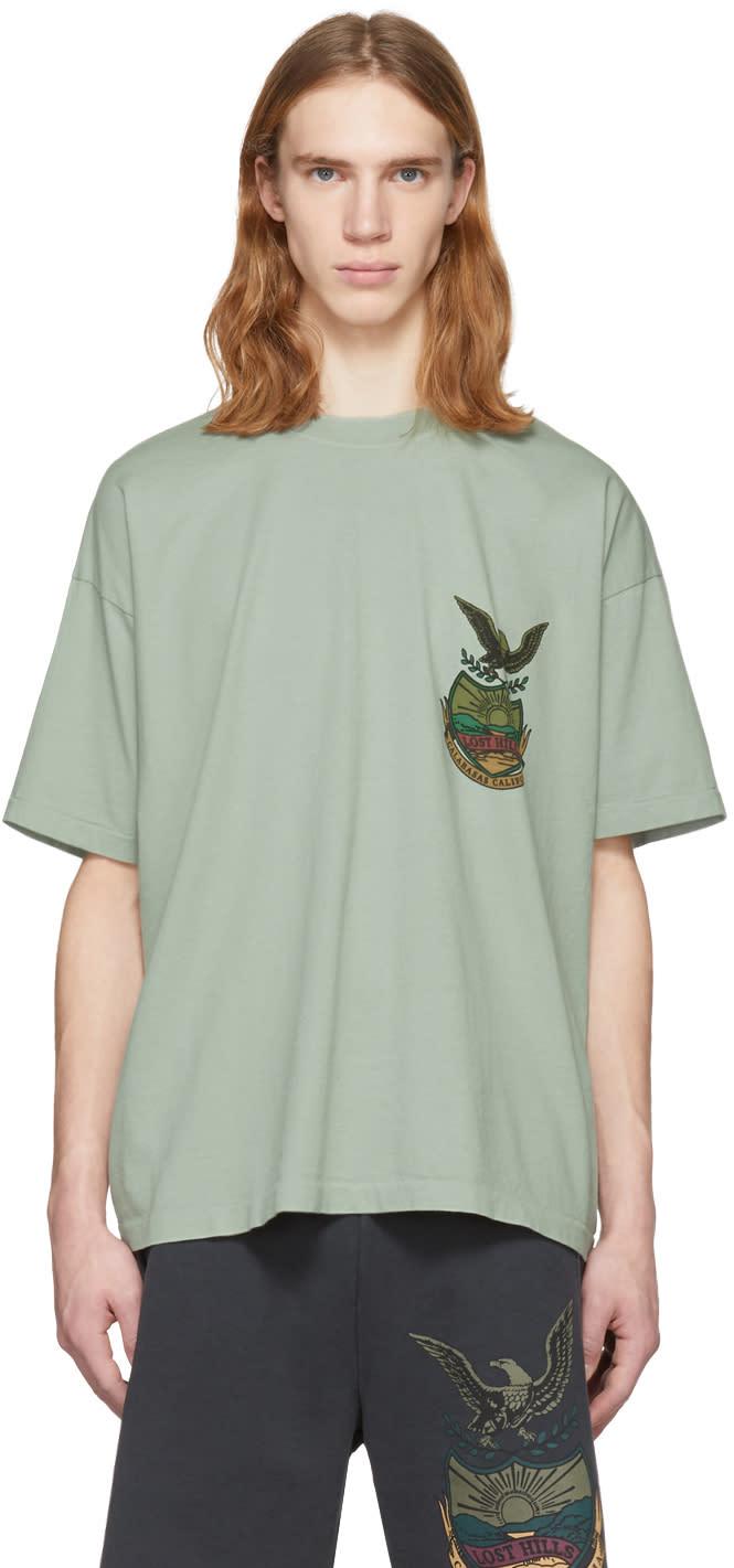 d69a01145 Yeezy Blue calabasas T shirt