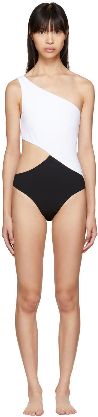 Image of Araks Black and White Elmar Swimsuit