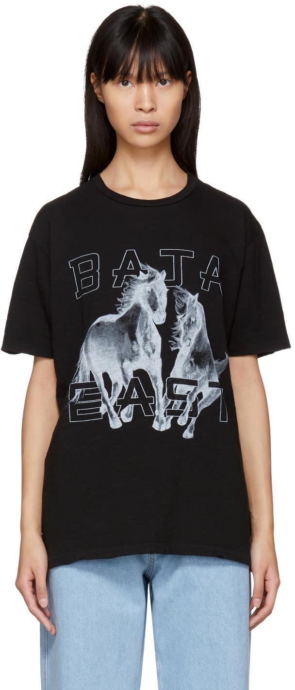 Image of Baja East Black Freedom T-shirt