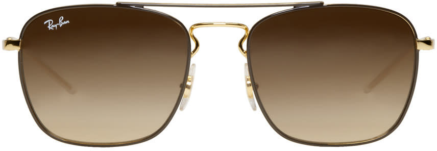 a9b74b14549 Ray ban Gold Rb3588 Sunglasses