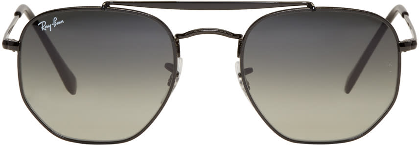 Image of Ray-ban Black Marshal Sunglasses
