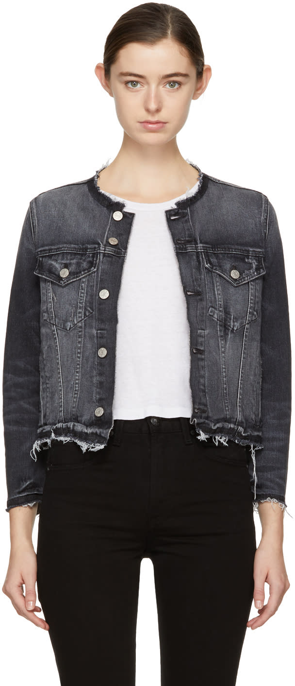 Image of Amo Black Denim Lola Jacket