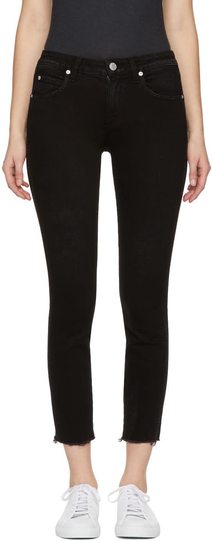 Image of Amo Black Stix Crop Jeans