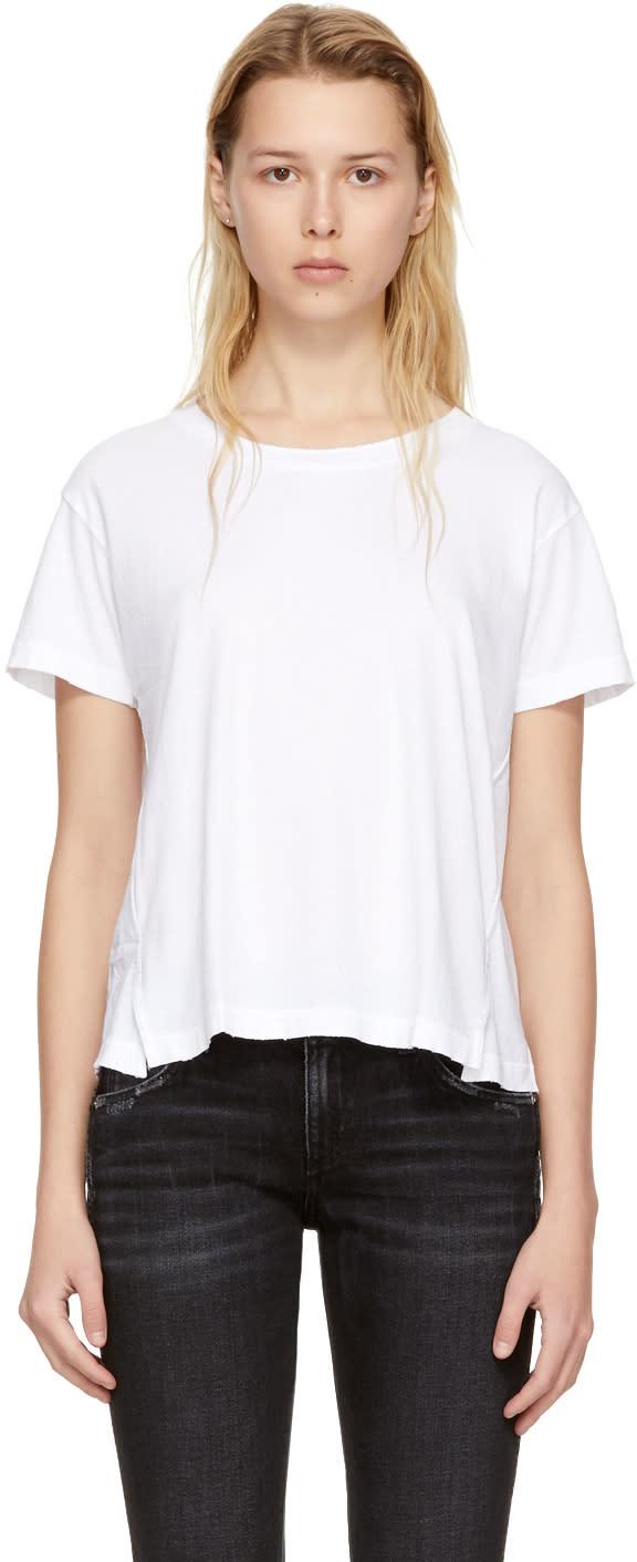 Amo T-shirt Blanc Twist