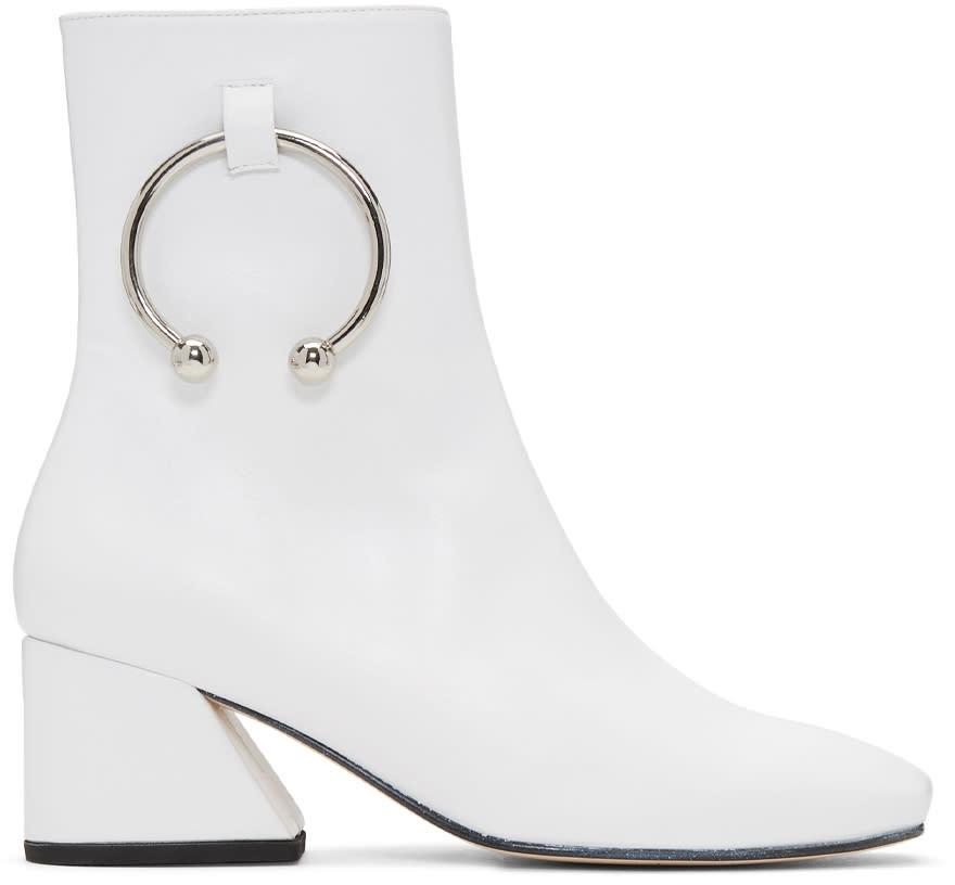 562ff9c44c0 Dorateymur White Nizip Boots