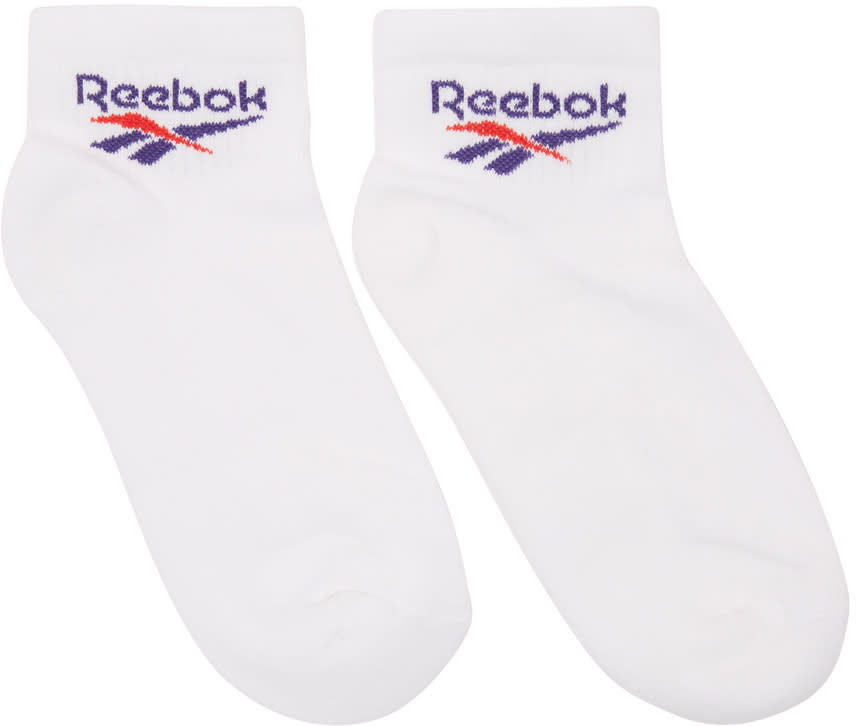 Reebok Classics Three pack White Cl Lost Found Socks