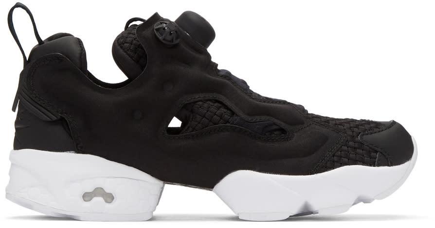 Image of Reebok Classics Black Instapump Fury Sneakers