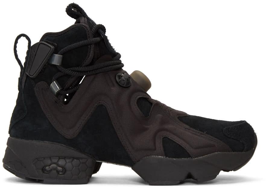 Image of Reebok Classics Black Furikaze Future Sneakers