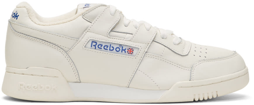 Reebok Classics Off-white Workout Plus Vintage Sneakers