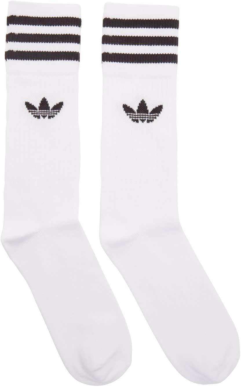 Adidas Originals Three pack White Solid Crew Socks