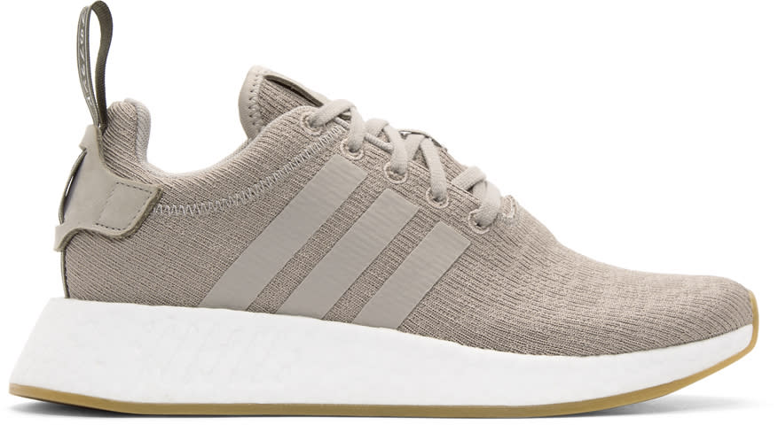 Adidas Originals Taupe Nmd-r2 Sneakers