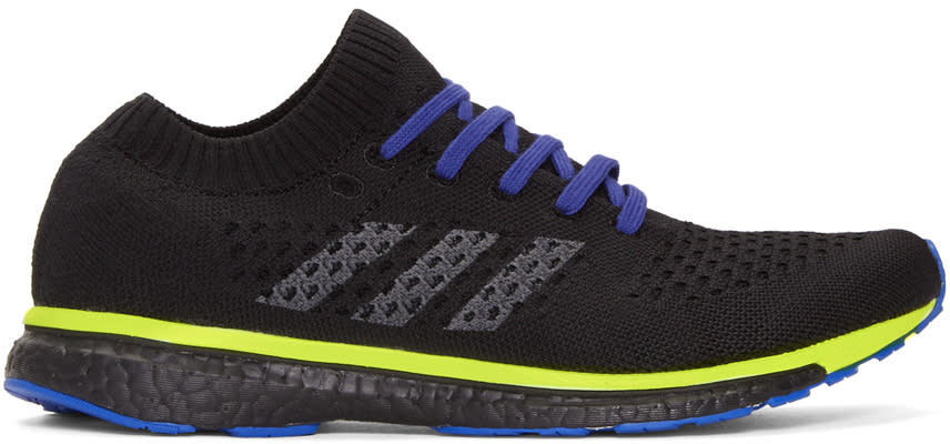 best sneakers 57d04 6cd8e Adidas X Kolor Black Adizero Prime Sneakers